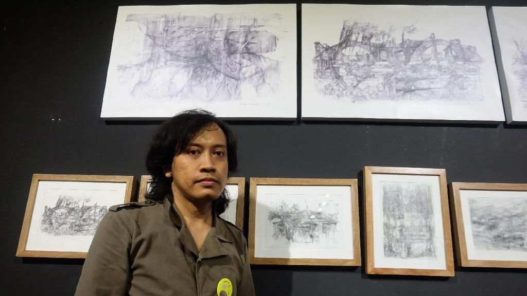 Prabu Perdana Menang Juara 2 Lewat Karya Overlapping Perspective