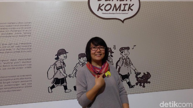 Komik The Chair Evelyn Ghozali Menangkan Indonesia Art Award 2018