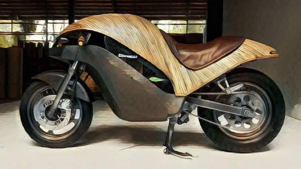 Motor Listrik Asal Filipina Ini Terbuat dari Bambu