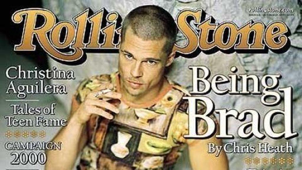 Brad Pitt hingga Justin Bieber, 10 Artis Pria Ini Pernah Pakai Baju Wanita