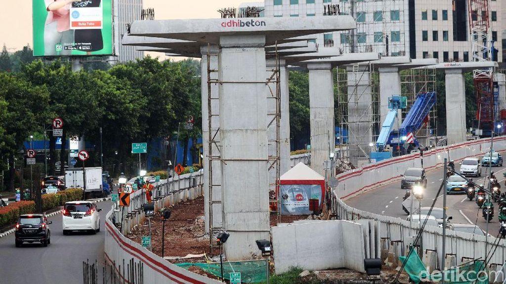 Pramuka Kukuh Minta Ganti Rugi Lahannya Dibangun LRT Jabodebek