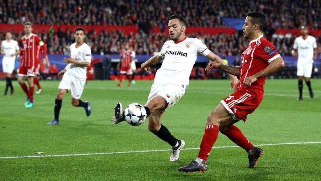 Sevilla Vs Bayern Imbang 1-1 di Babak Pertama