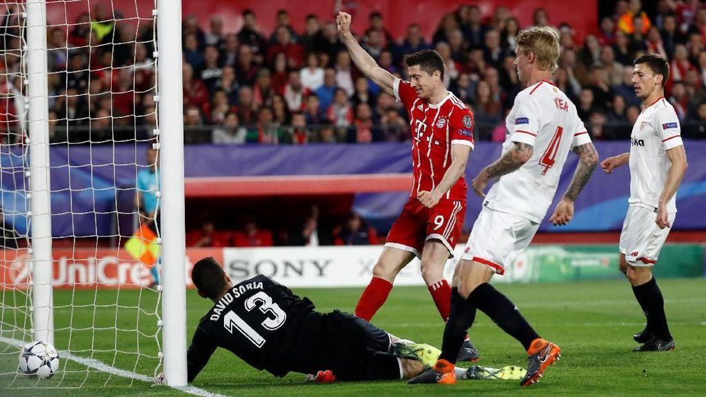 Bayern Menang 2-1 di Markas Sevilla