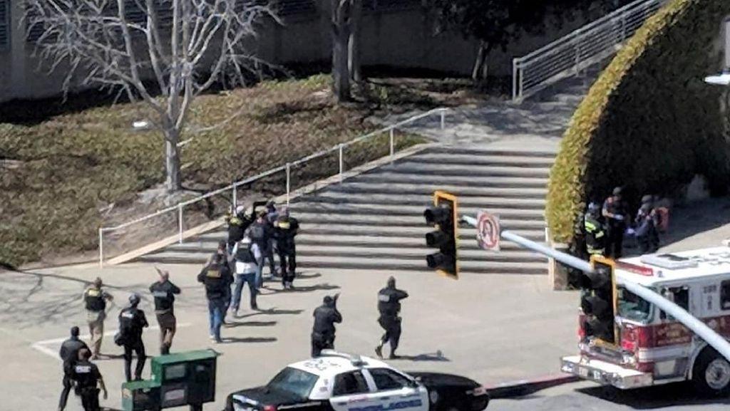 Video Situasi Mencekam Penembakan di Kantor YouTube