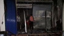 Kantor Teras BRI di Trenggalek Ludes Terbakar
