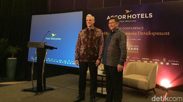 Suasana konferensi pers di Jakarta (Kurnia/detikTravel)