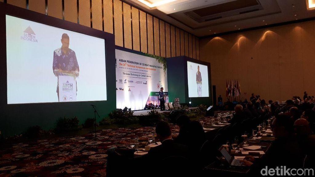 400 Pelaku Industri Semen Asia-Eropa Kumpul di Bandung