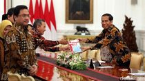 Temui Presiden Jokowi, BPK Lapor Selamatkan Uang Negara