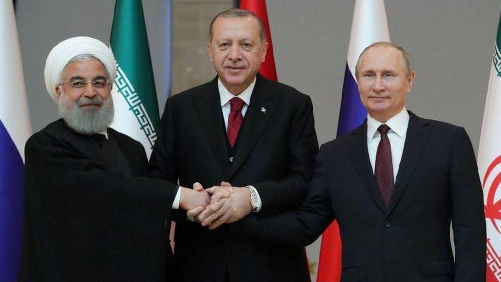 Momen Akrab Putin, Erdogan, dan Presiden Iran