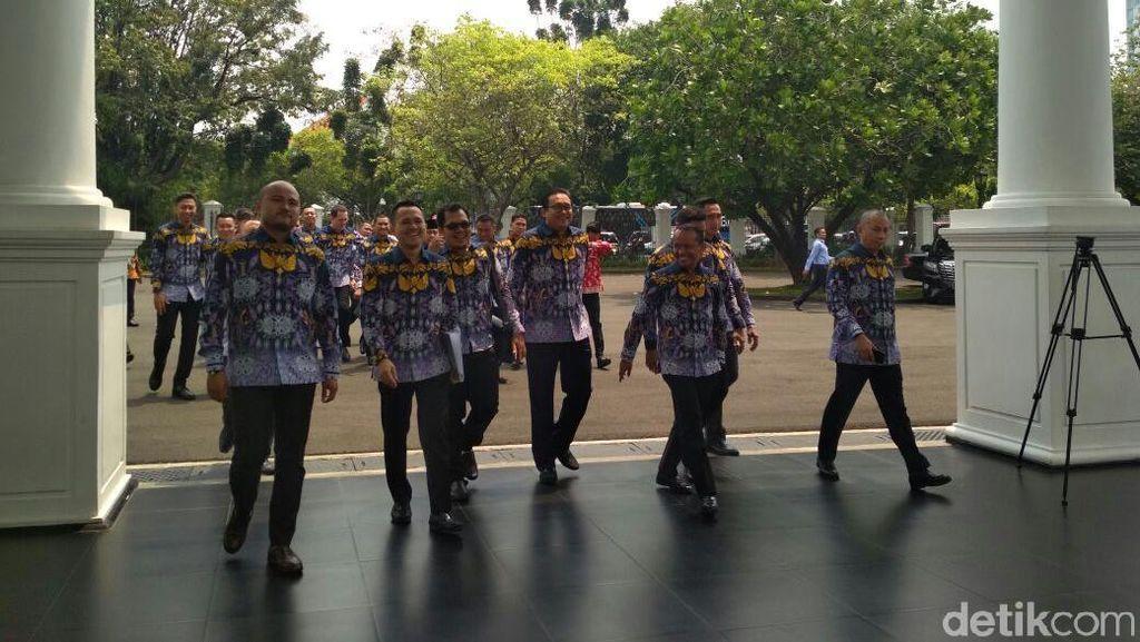Puluhan Pengusaha Datangi Jokowi, Tagih Janji Proyek Infrastruktur