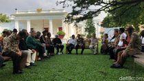 Jokowi Jelaskan ke Budayawan Kenapa Fokus Bangun Infrastruktur