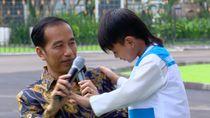 Alarik, Anak yang Bisa Tepuk Pundak Presiden Jokowi