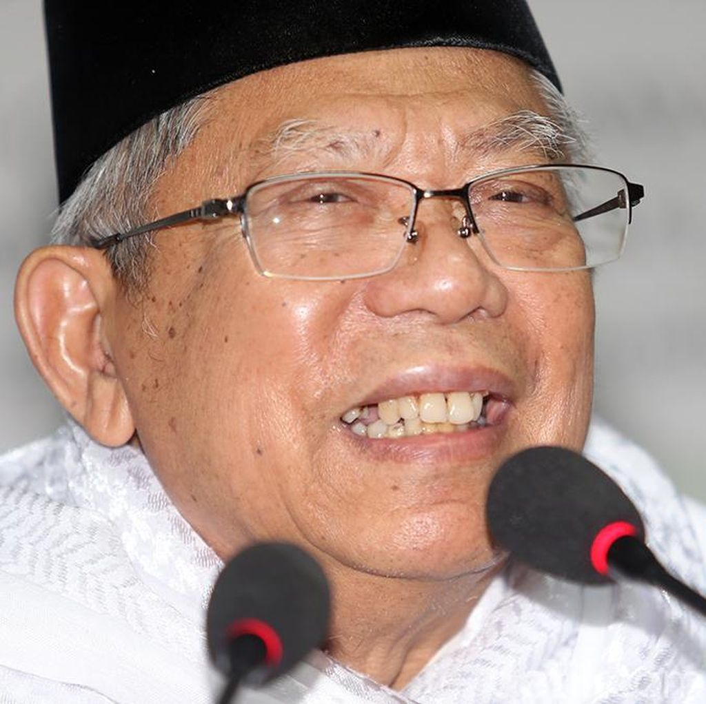 Maruf Amin: Jokowi akan Bagikan 12 Juta Hektare ke Pesantren