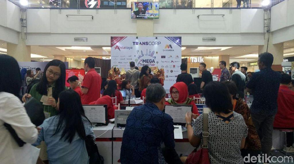 Mega Travel Fair Hadir di Palembang, Yuk Lihat Banyak Promo Liburan