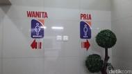Pengguna Kereta Keluhkan Air Asin di Toilet Stasiun Kota
