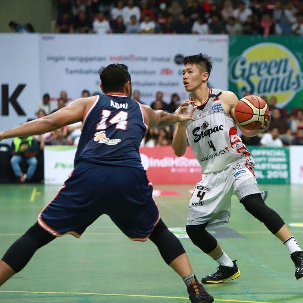 Stapac Kalahkan Pelita Jaya di Laga Pertama Semifinal