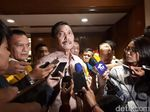Luhut Tepis Fahri Soal Duit Gedung DPR Dilarikan ke Pesta IMF