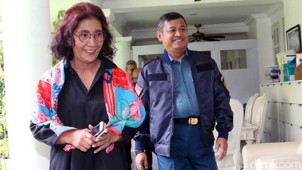 Duet Susi dan TNI AL Tangkap Kapal Pencuri Ikan di Pulau Weh