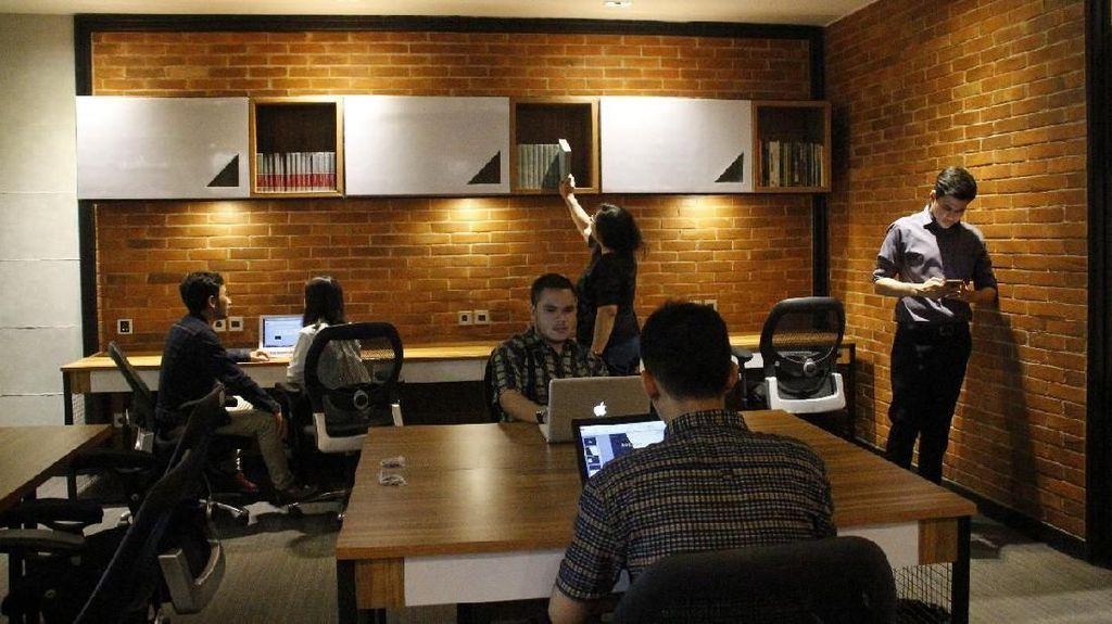 Sewa Ruang Kantor Zaman Now Cuma Rp 50.000 per Orang