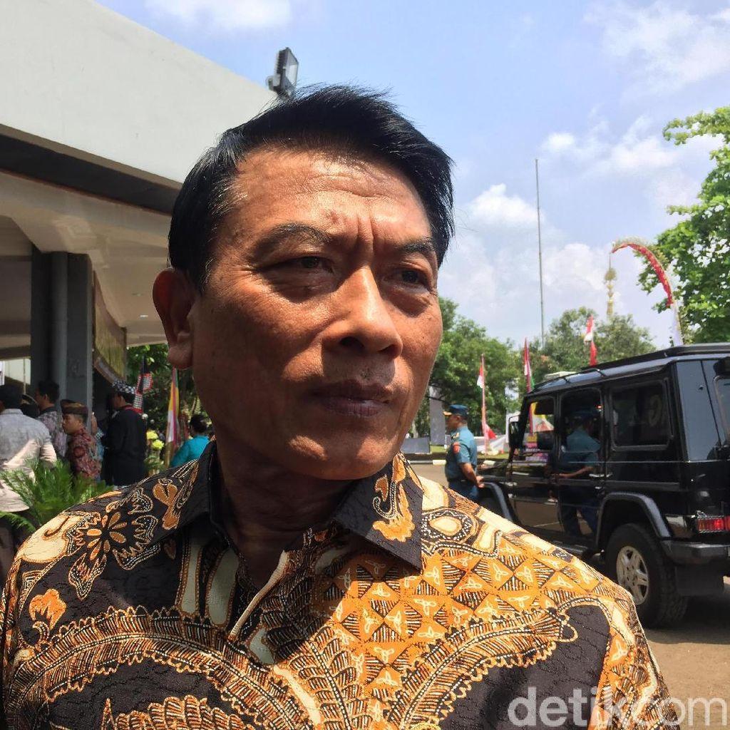 Moeldoko Akui Komunikasi Politik Pemerintah Lemah