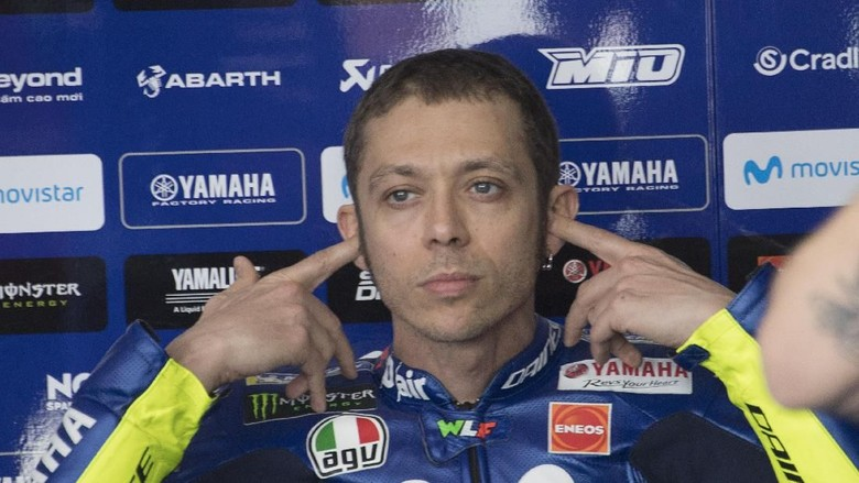 Rossi kepada Marquez: Kalau Punya Nyali, Datang Sendiri