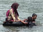 Saweran Jembatan Mangkrak Sudah 72 Persen, Kurang Rp 56 Juta