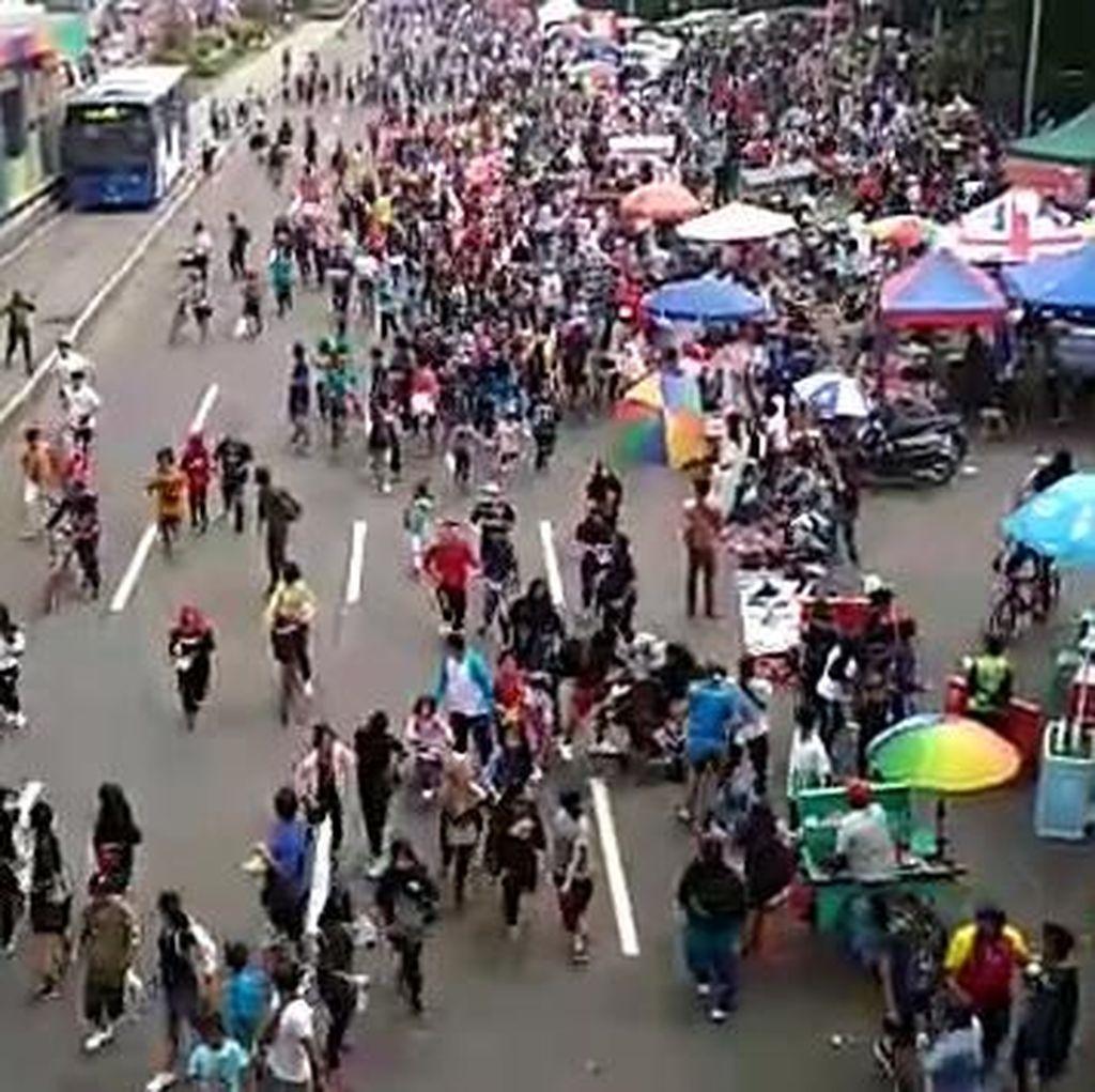 Acara Relawan Kandidat Pilpres Boleh Digelar di CFD, Asal..