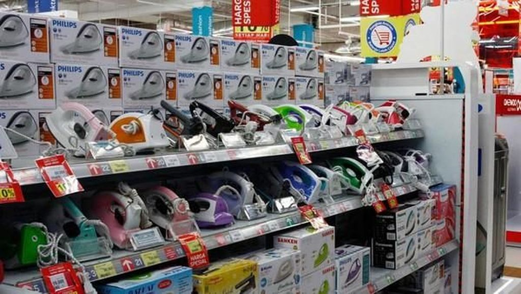 Ada Potongan Harga Setrika hingga Blender di Transmart
