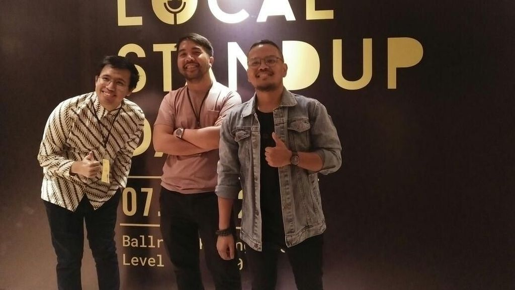 Keseruan Local Stand Up Day, 30 Komika hingga Anies Baswedan