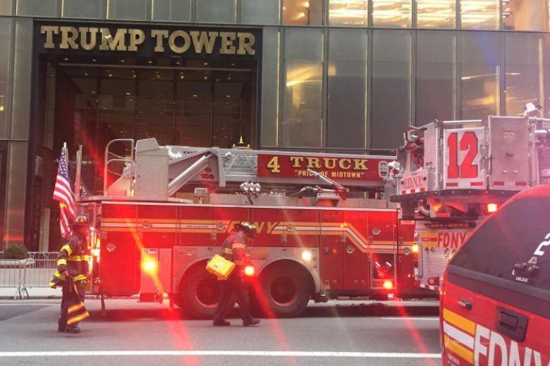 Trump Tower Kebakaran, Seorang Kakek Tewas