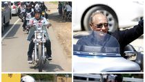 Mereka Juga Biker, Ini Gaya Jokowi hingga Putin Naik Moge
