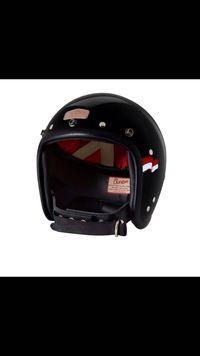 Helm yang dikenakan Jokowi