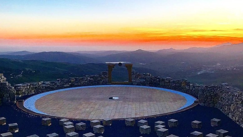 Andromeda Theatre di Pegunungan Sicili, Italia (g.nocera/ Instagram)