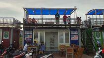 Kafe Kontainer di Prigi, Pengelola: Justru Ramainya Sore hingga Malam