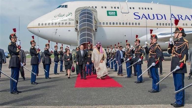 Putra Mahkota Arab Saudi Tiba di Paris, Aksi Demo Akan Digelar