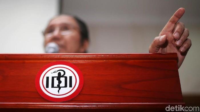 IDI telah menunda sanksi pemecatan dr Terawan Agus Putranto (Foto: Ari Saputra)