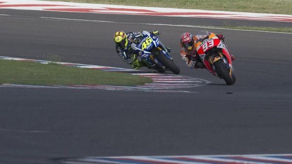 Rossi vs Marquez di Argentina, Dorna: Yang Penting Taat Aturan