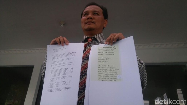 Tim Ganjar-Yasin Polisikan Pihak yang Persoalkan Puisi Gus Mus