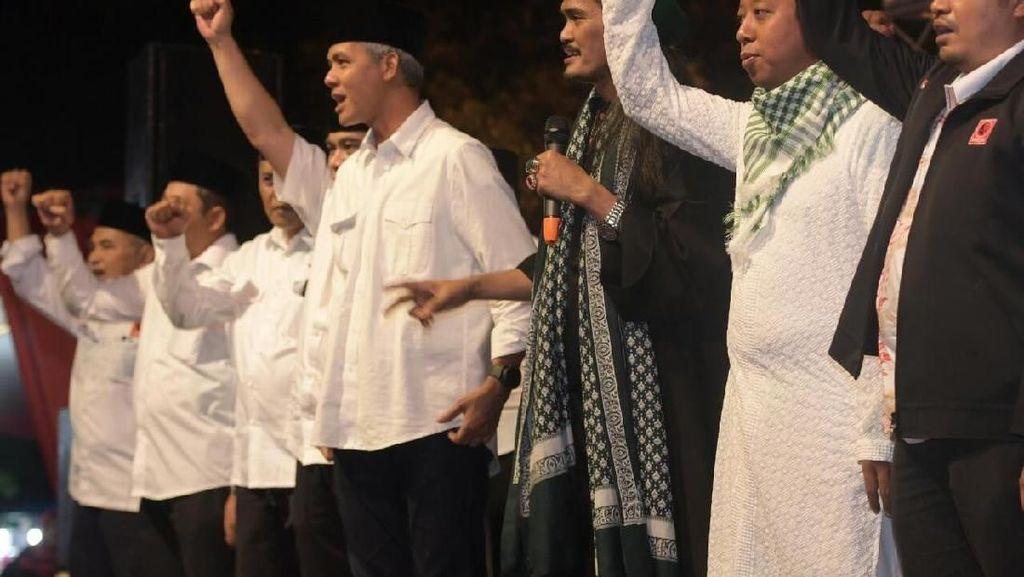 Duet Ketum PPP & Projo Menangkan Ganjar di Karanganyar