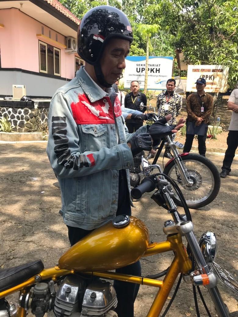 Helm Keren Jokowi Belum Ada SNI