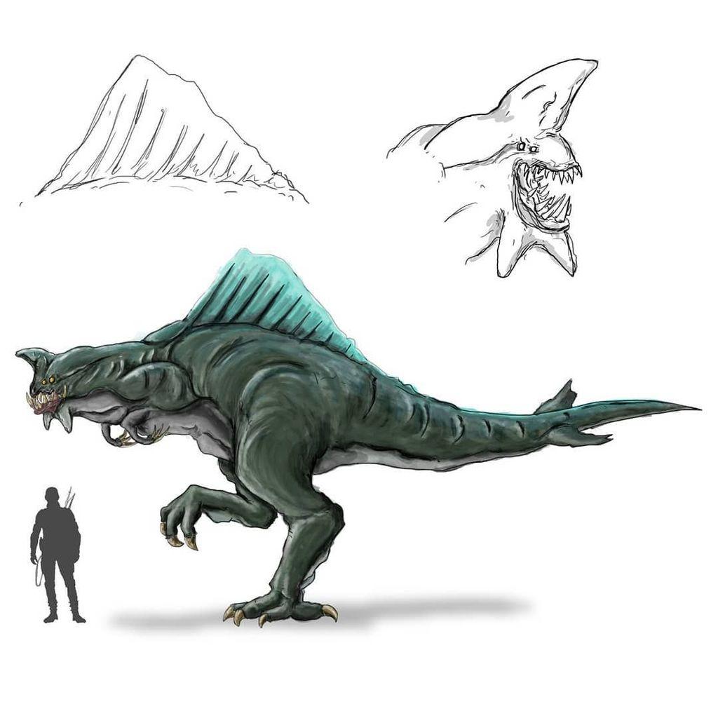 Karya monster ini merupakan bikinan Prayoga Ardi Pradana. Foto: instagram.com/prayogaardipradana