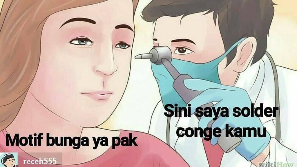 Ragam  Meme Saran Ngaco dari Dokter yang Sebaiknya Jangan Diikuti