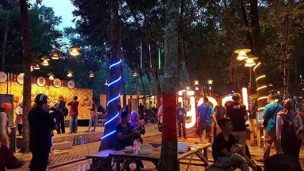 Foto: Sebelum Hutan di Semarang Jadi Pasar