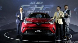 Toyota C-HR Siap Dikirim Akhir Bulan, Mau?