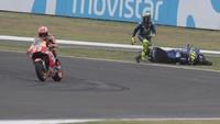 Syukur Dovi atas Insiden Rossi-Marquez di Argentina
