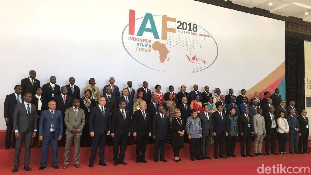 Buka Forum Bisnis RI-Afrika, JK: Bukan Wakanda Forever