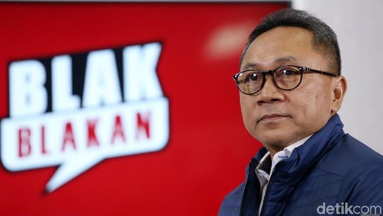 Tonton Blak-blakan Zulkifli Hasan, Koalisi Selain Jokowi