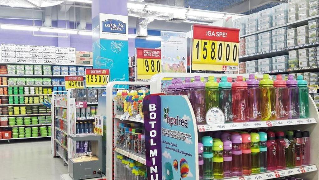 Aneka Promo Kotak Bekal dan Botol Minum di Transmart Carrefour