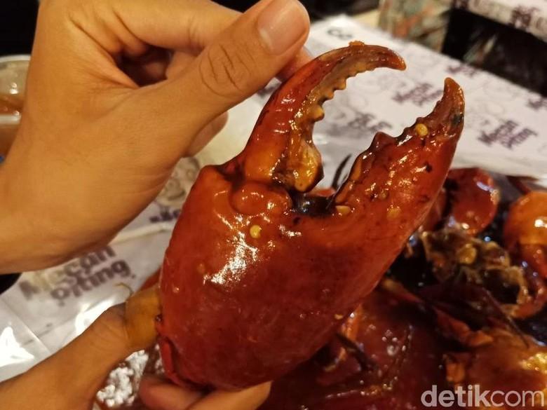 Mecah Piting: Rela Antre Demi Kepiting Super Jumbo Sebesar Kepalan Tangan