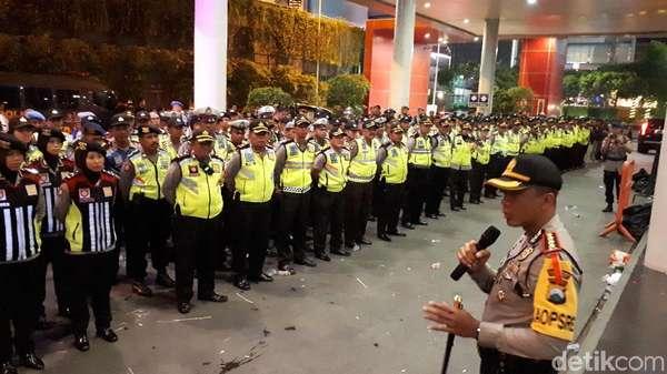 Debat Cagub Jatim Usai, Polisi: Aman dan Lancar